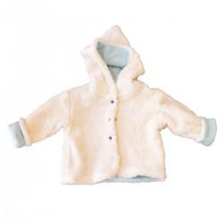veste capuchon coton bio bebe enfant