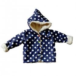 veste de pluie doublée, coton bio GOTS