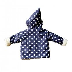 veste de pluie coton bio fille garcon