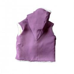 veste sans manches coton bio made in France