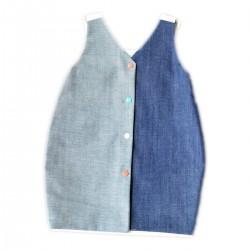 robe jean coton bio made in france