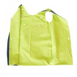 robe reversible vert jean coton bio