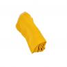 lange tout doux en coton bio double gaze couleur moutarde