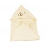 cape de bain éponge coton bio bebe