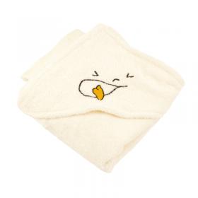 cape de bain coton bio 75x75 cm