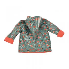 veste de pluie enfant imperméable evolutif coton bio