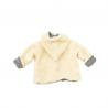 veste avec une grande capuche pour enfant