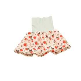 jupe coquelicot rouge pour fille