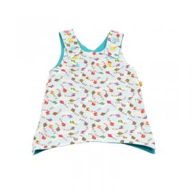 Robe pour les petites filles qui aiment les couleurs et la douceur