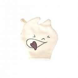 gant de toilette coton bio enfant