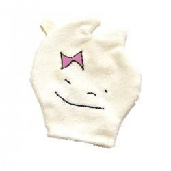 gant de toilette coton bio bebe