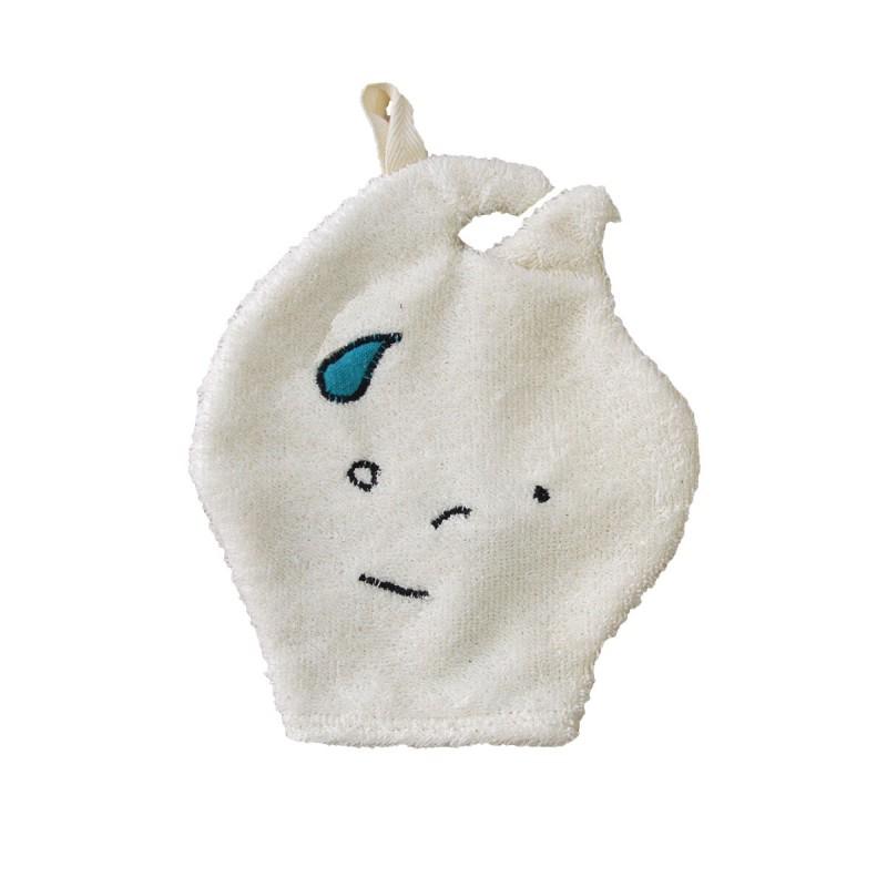 gant de toilette en coton bio pour enfant