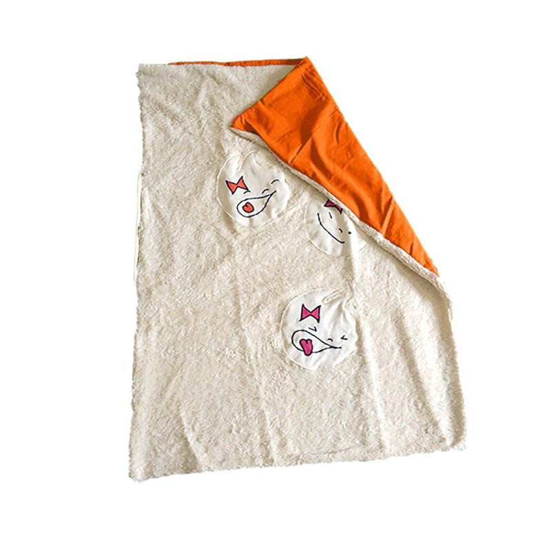 couverture bebe coton bio GOTS made in France