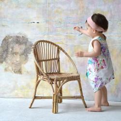 robe evolutive et reversible pour bebe et enfant imprimé kolibri