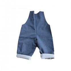 salopette fabrication francaise bebe enfant jean
