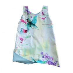 robe originale coton bio gots fille 0 à 6 ans