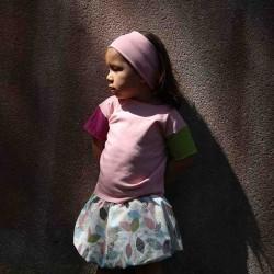 jupe enfant réversible en coton bio
