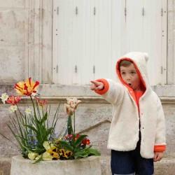 veste enfant reversible en coton bio