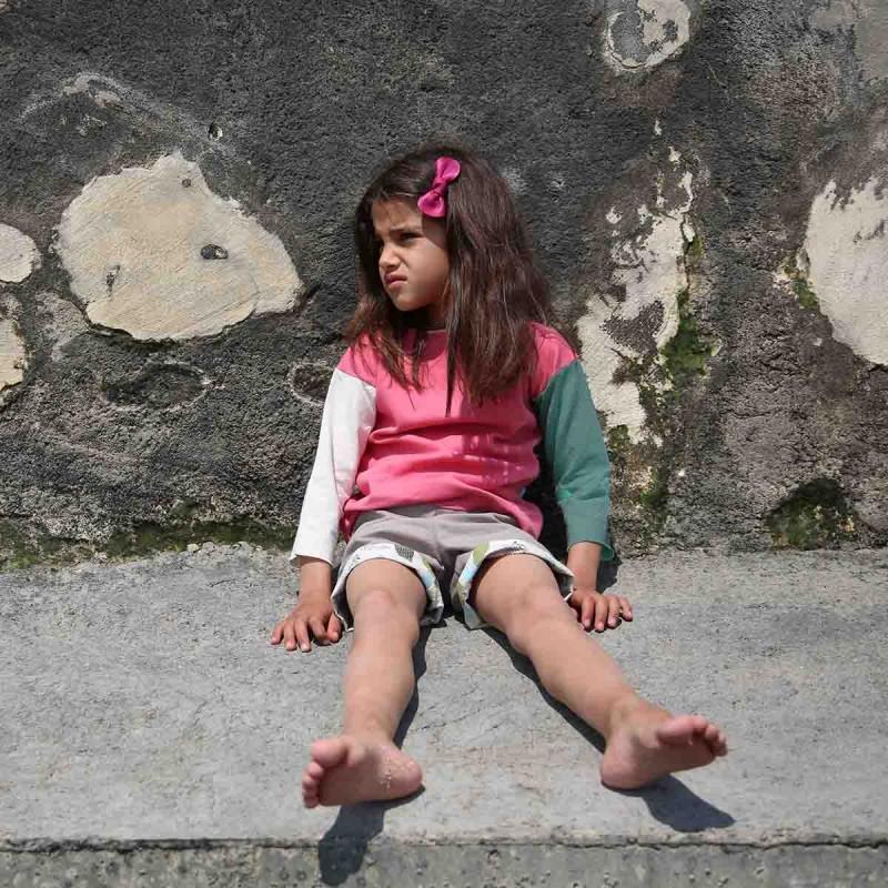 t-shirt enfant coton bio evolutif