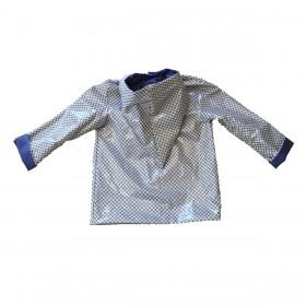 Veste de pluie laminé motif géométrique