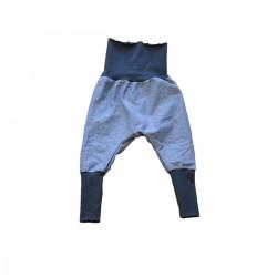 sarouel en jersey bleu