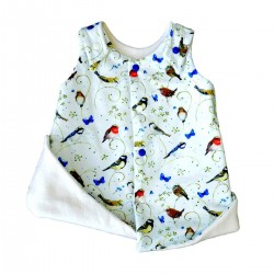 robe originale bebe fille coton bio made in france