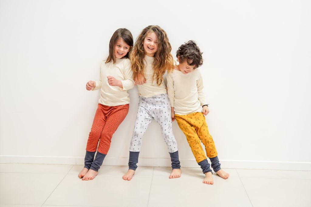 ensemble de sarouels mixte pour bébés et enfants